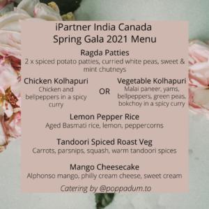 Gala Menu 2021 by POPpadum